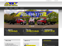 Custom Web Development, SEO - a-1 wrecker service